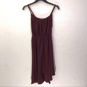 Cotton On Lightweight Semi-Sheer Hi-Low Slip Dress